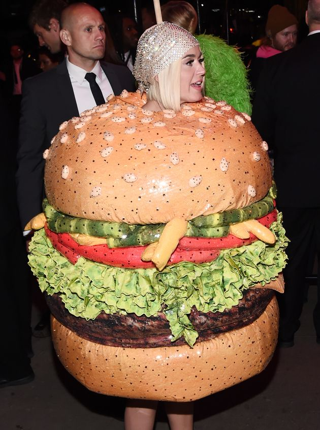 Katy Perry pictured at a Met Gala after party on Monday in New York