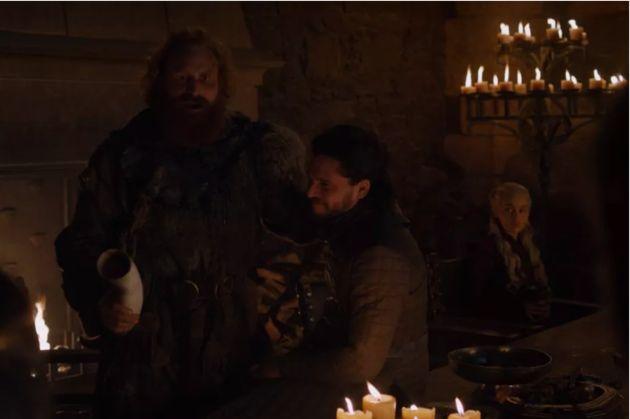 La version corrigée numériquement par HBO pour le replay de sa