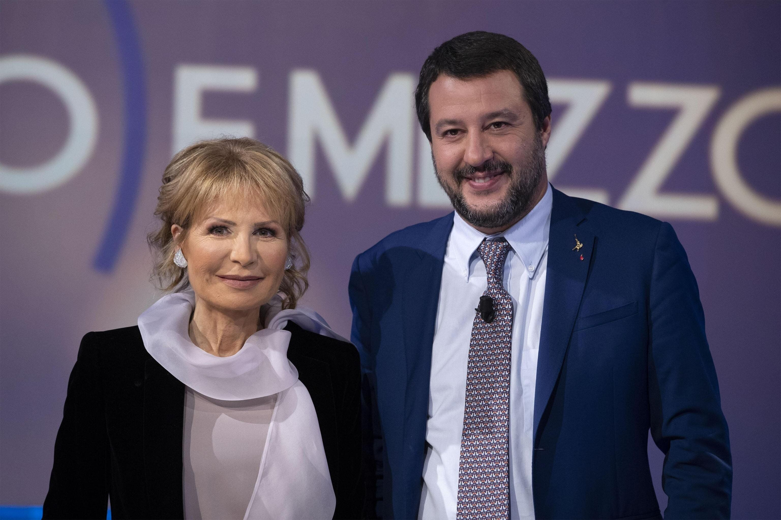 Schermaglie Salvini-Gruber.