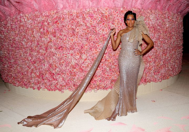 Regina King attends The 2019 Met Gala at Metropolitan Museum of Art on May 06, 2019, in New York City.