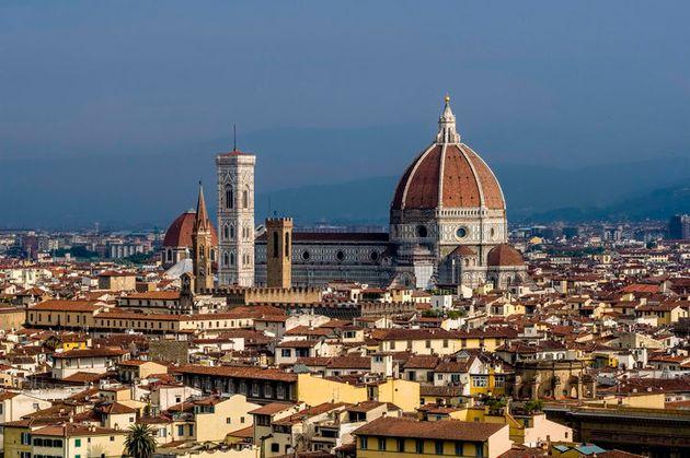 Florencia (Italia) atrae todos los años a millones de