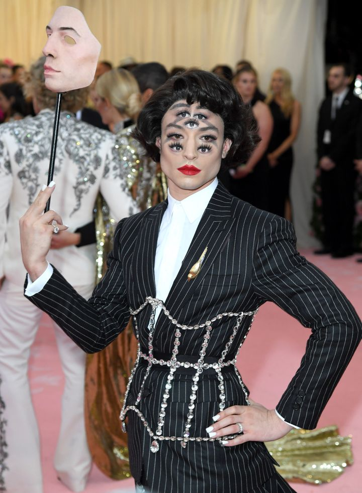 All Eyes Were On Ezra Miller's Met Gala Look And Fans Couldn't Get Enough Of It