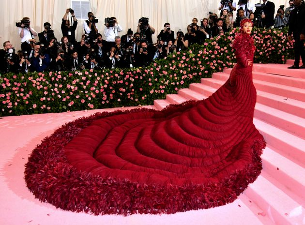 Cardi B Wore $500,000 Ruby Nipple Covers And A 'Vajayjay' To The 2019 Met