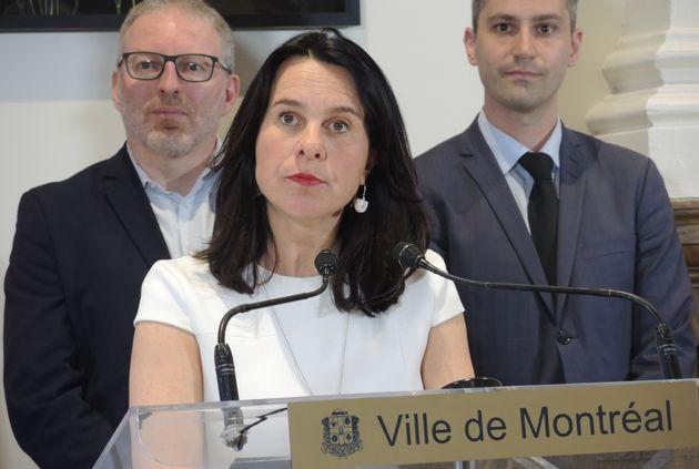 Valérie Plante, mairesse de