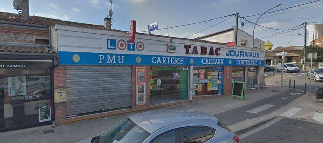 Le bar-PMU de Blagnac, situé au 12 Le Plan du Port, ciblé par le preneur d'otages le 7...