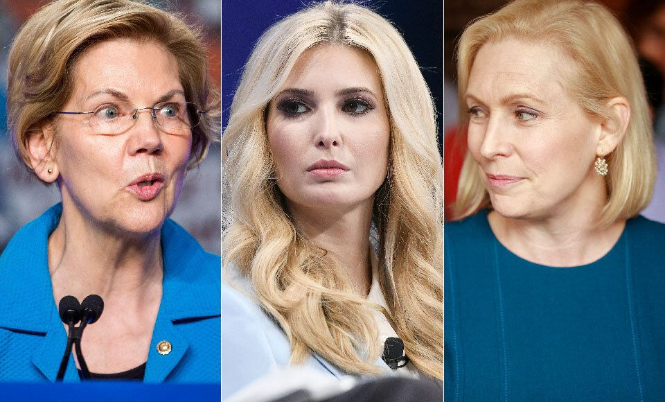 Warren, Trump, Gillibrand