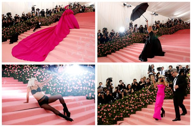 Lady Gaga abraçou o tema do baile usando 4 looks