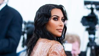"Kim Kardashian attends The Metropolitan Museum of Art's Costume Institute benefit gala celebrating the opening of the ""Camp: Notes on Fashion"" exhibition on Monday, May 6, 2019, in New York. (Photo by Charles Sykes/Invision/AP)"