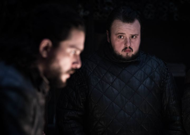 "Kit Harington and John Bradley in ""Game of Thrones."""