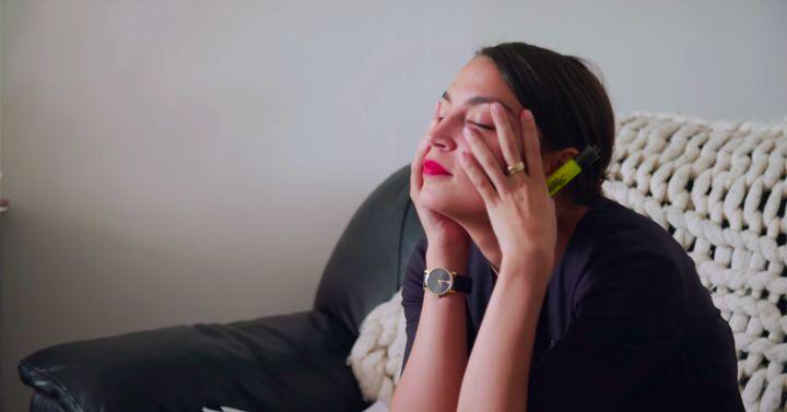 """""""I am experienced enough to do this,"""" Alexandria Ocasio-Cortez tells herself at one point in the documentary """"Knock Down the House."""" It's a pep talk you can do, too."""