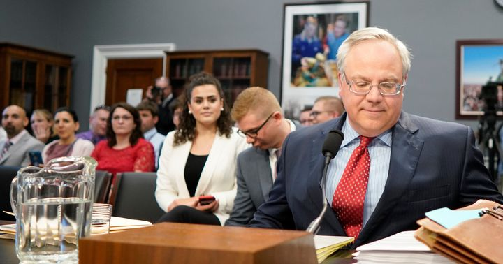 Interior Secretary David Bernhardt testifies Tuesday before a House Appropriations subcommittee on the Interior Department's