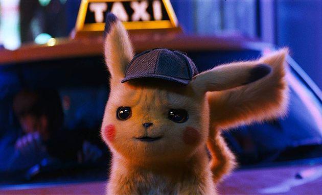 Com a voz deRyan Reynolds, Pikachu é a estrela do primeiro filme live-action da franquia