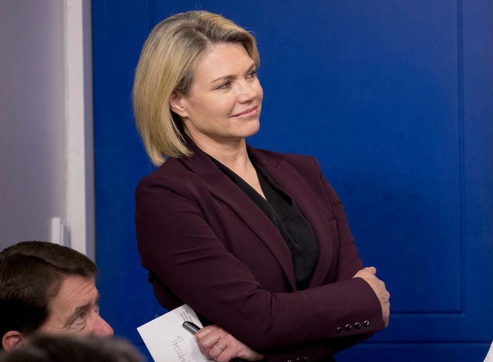 President Donald Trump has tapped Heather Nauert to join the President's Commission on White House Fellowship