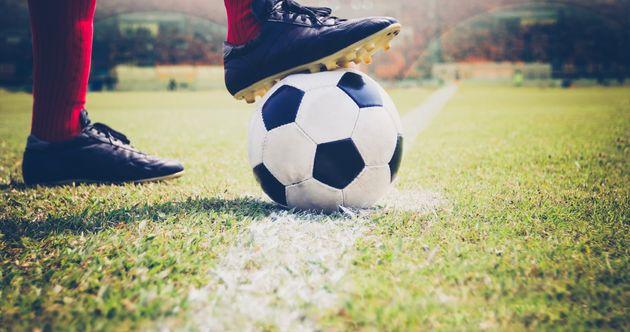 サッカーボールのイメージ写真