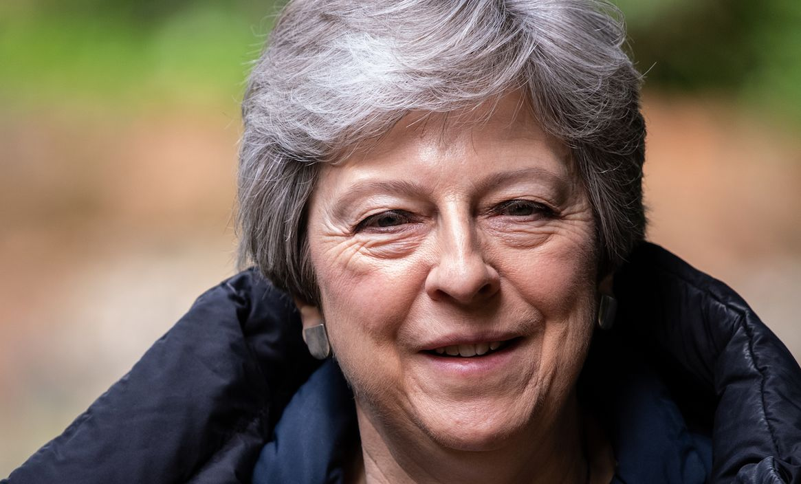 The Prime Minister is facing a Tory grass roots revolt over her leadership (Getty)