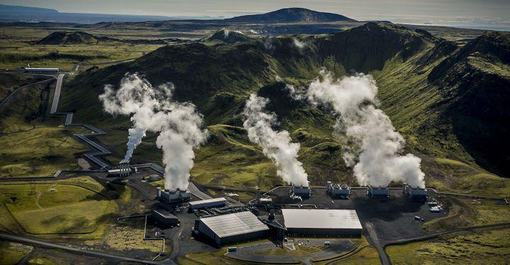 La centrale de Hellisheidi en Islande