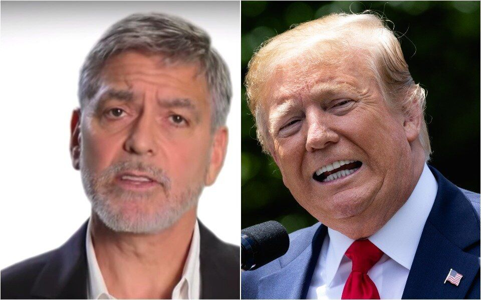 George Clooney and Trump