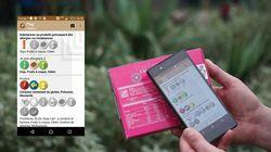 C'est une application pour smartphone qui a gagné le Concours