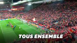 Le stade de Liverpool reprend en chœur