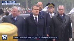 L'hommage involontaire de Macron à Hollande pour le 8