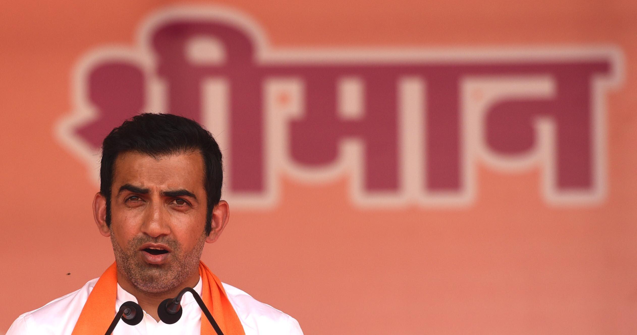 BJP's Gautam Gambhir Faces Tough Contest From AAP's Atishi In East