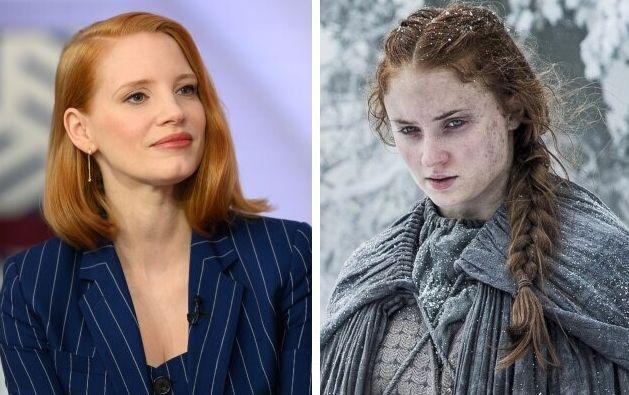 Jessica Chastain contro lo stupro di Sansa nel Trono di Spade: