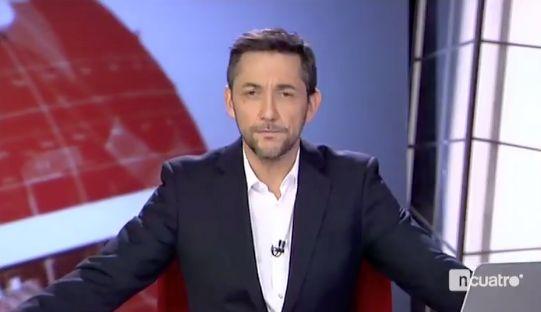 Javier Ruiz va a dar las noticias, se equivoca y acaba como nunca habría