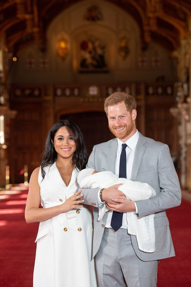 As primeiras fotos do bebê real, filho de Meghan Markle e príncipe