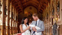 Primera foto del hijo del príncipe Harry y Meghan