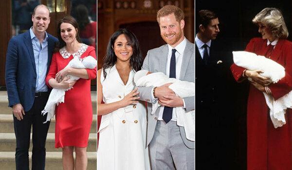 Meghan si sposa da sola, lascia il figlio in braccio a Harry e mostra la pancia: è un altro