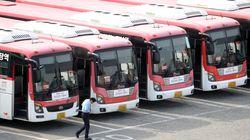 부산·울산·청주·충남 버스 노동자들이 파업을