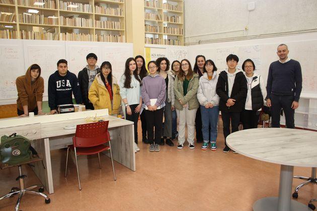 Οι μαθητές του ACS Athens έστειλαν ελληνικό μέλι στο