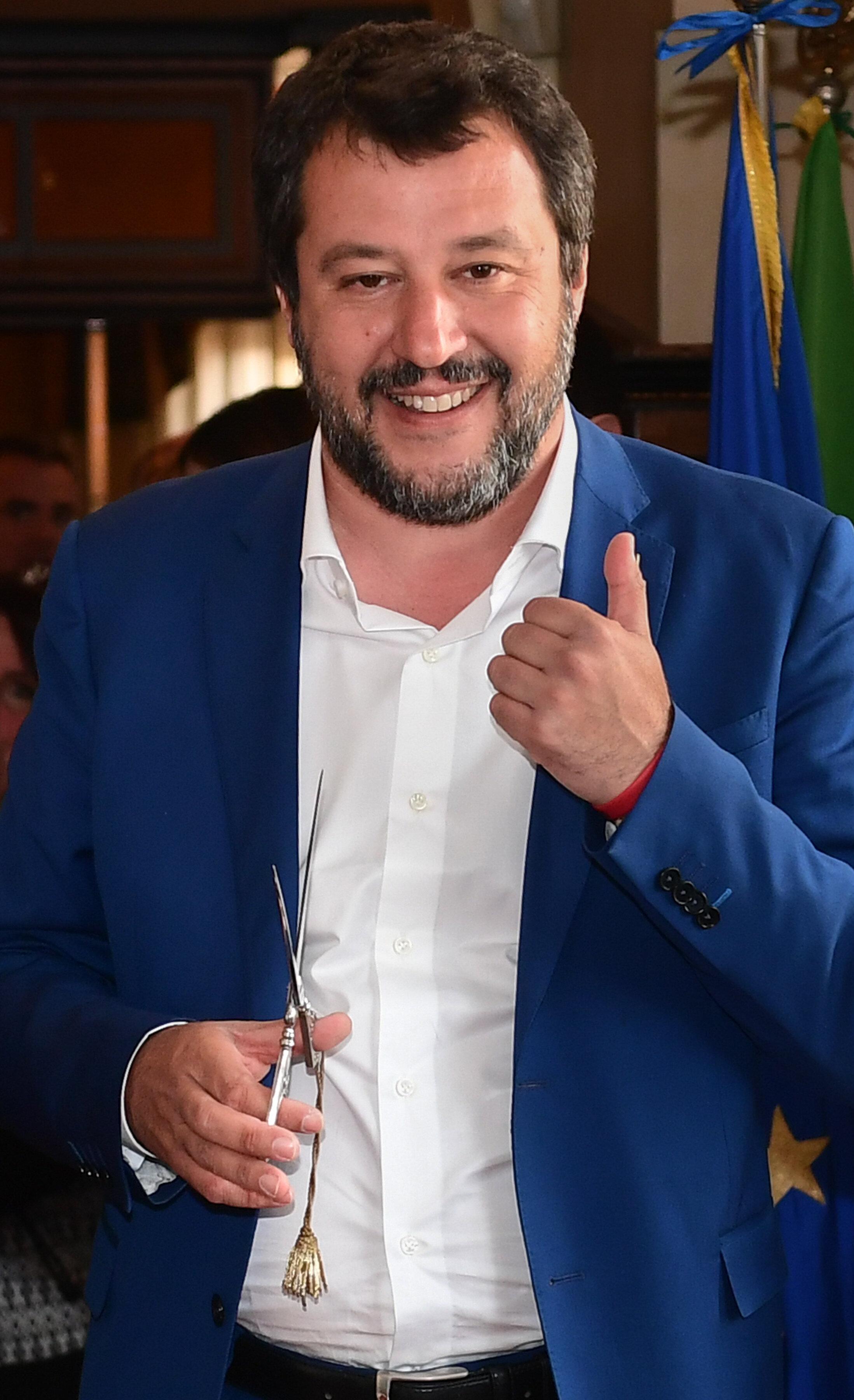 Matteo Salvini sconfitto sul caso Siri risponde con un'agenda da premier