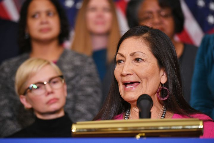 Rep. Deb Haaland (D-N.M.)is introducing legislation to force ride-share companies to pay their drivers' payroll taxes.