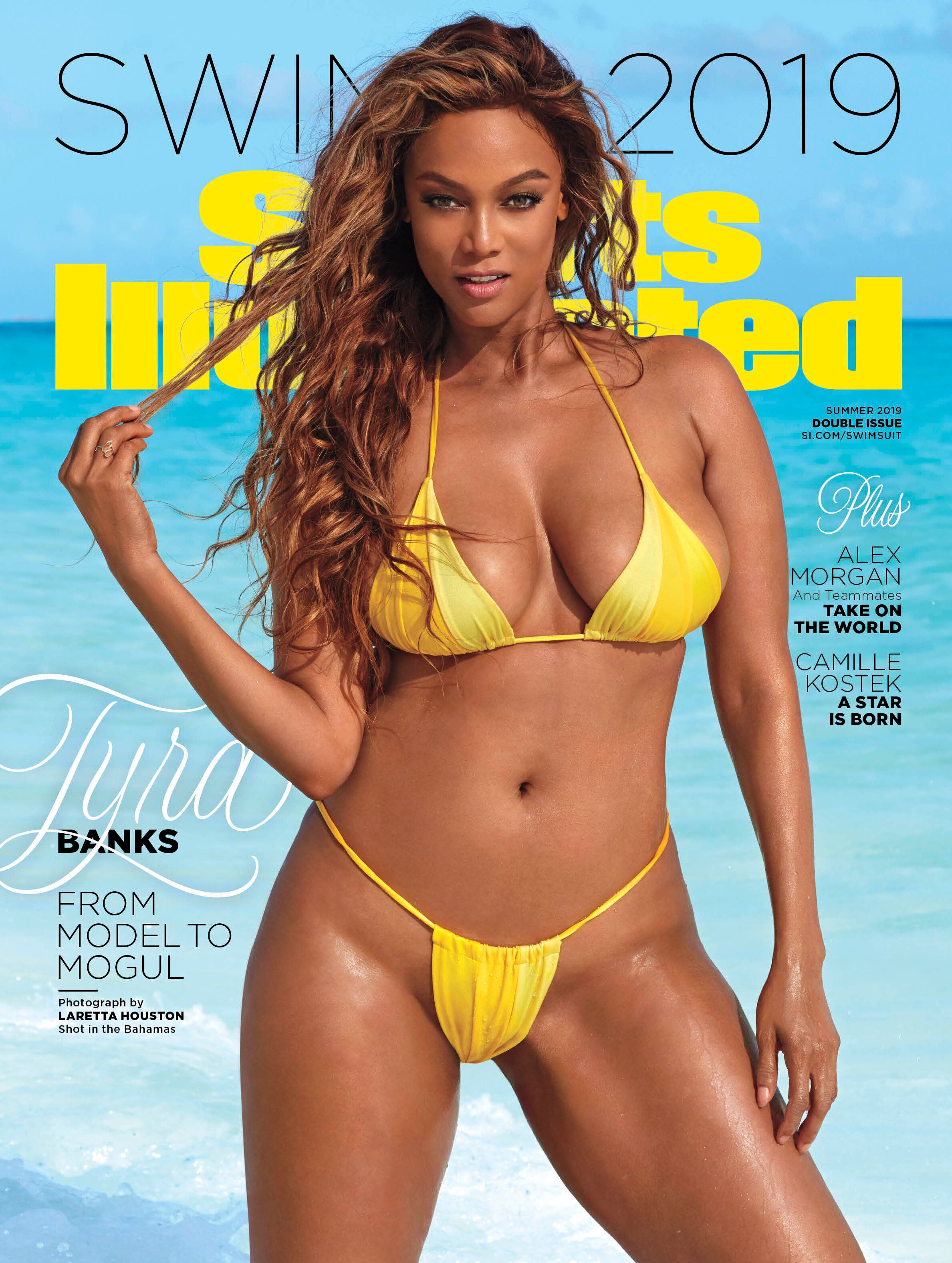 Tyra Banks is one of Sports Illustrated Swimsuit's 2019 cover stars.