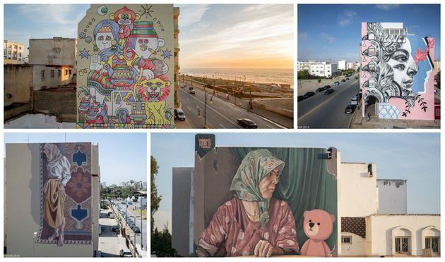 Jidar 2019: Les nouvelles fresques XXL qui vont parer la capitale en (impressionnantes)