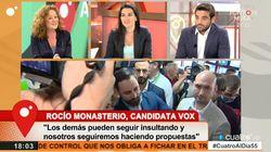La drástica decisión de Cristina Fallarás en 'Cuatro al día' en una entrevista con Rocío Monasterio