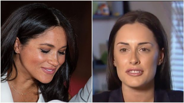 Tanya Ricardo (r) is undergoing cosmetic surgery in hopes of looking like Meghan Markle.