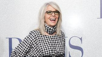 """LOS ANGELES, CALIFORNIA - MAY 01: Diane Keaton attends the premiere of STX's """"Poms"""" at Regal LA Live on May 1, 2019 in Los Angeles, California. (Photo by Rachel Luna/Getty Images)"""