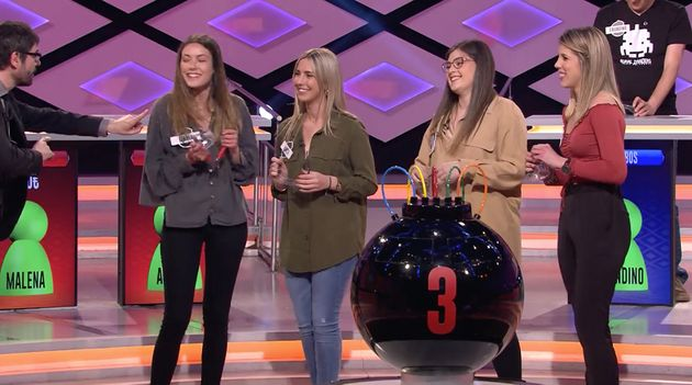 Juanra Bonet manda callar a una concursante en 'Boom' (Antena 3):