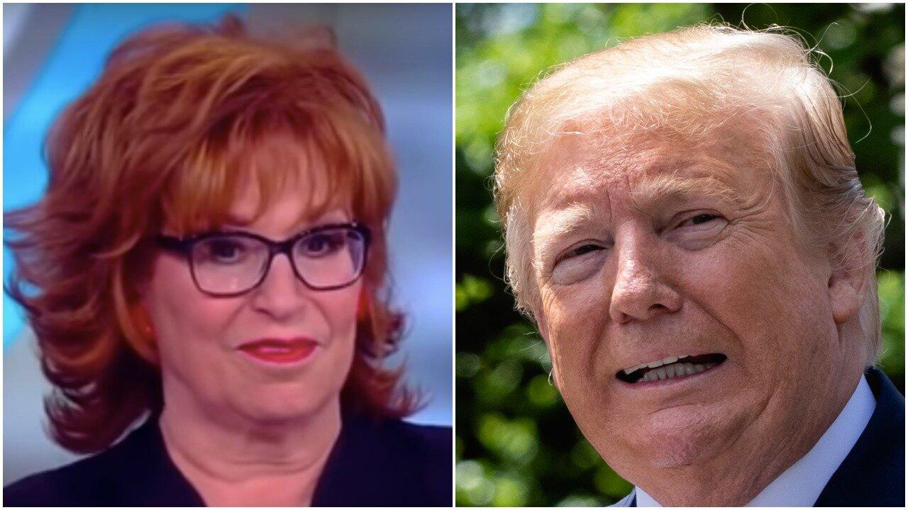 Joy Behar/ Donald Trump