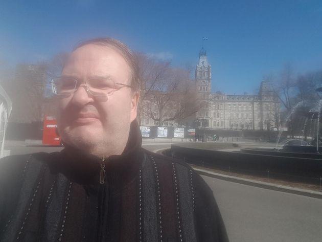 Sylvain Fortin devant l'Assemblée