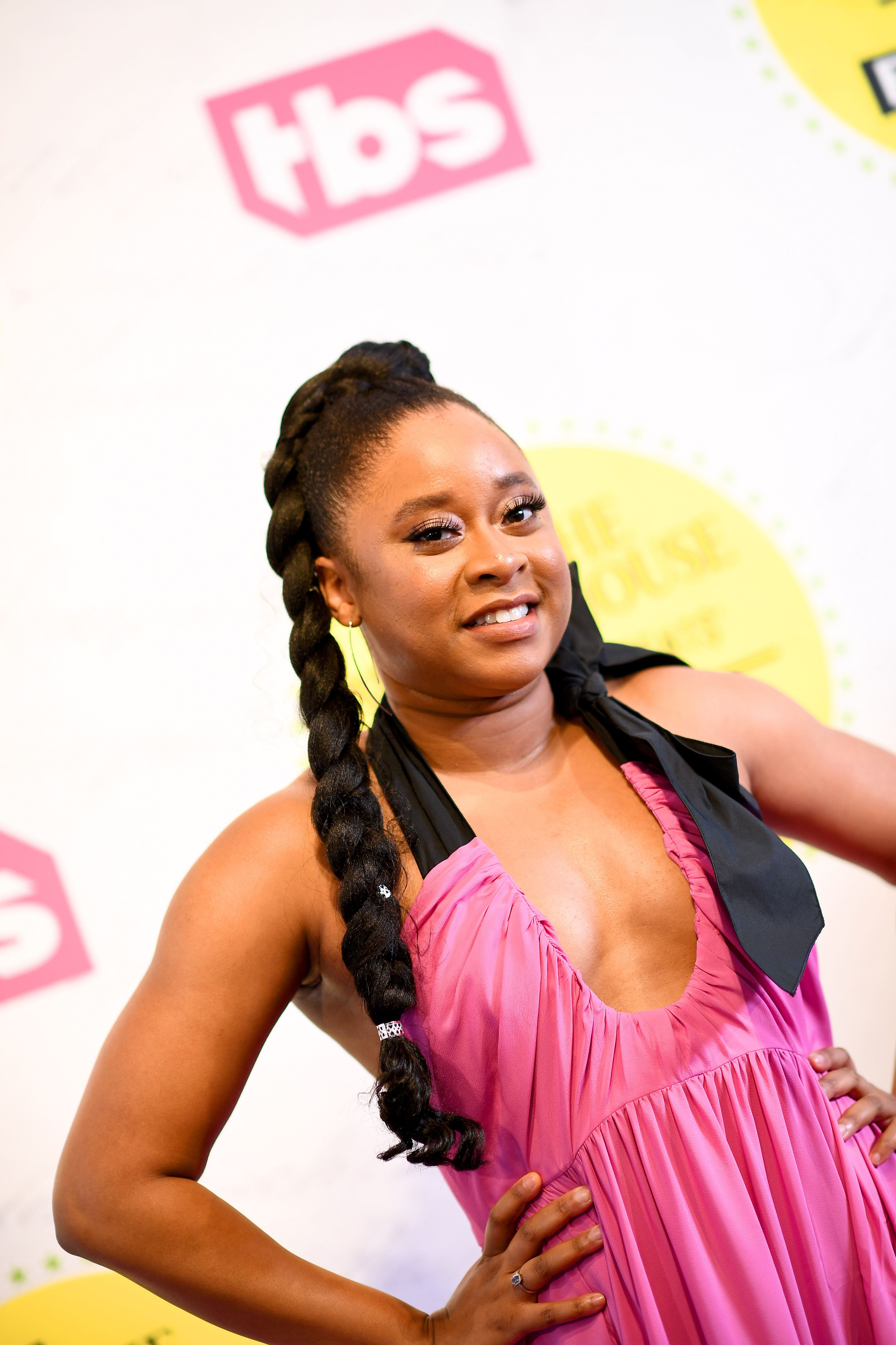 """WASHINGTON, DC - APRIL 26: Phoebe Robinson attends """"Full Frontal With Samantha Bee"""" Not The White House Correspondents Dinner at DAR Constitution Hall on April 26, 2019 in Washington, DC. (Photo by Dimitrios Kambouris/Getty Images for TBS) 558302"""