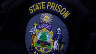 AUGUSTA, ME  AUGUST 24: A state prison guard uniform worn by Cory Peaslee shows the seal of the Dept. of Corrections, Sun. August  24, 2014. Peaslee, 20, alleges that fellow guards and his supervisor hazed him last spring when he was new to the job. He no longer works at the prison.(Photo by Amelia Kunhardt/Portland Press Herald via Getty Images)