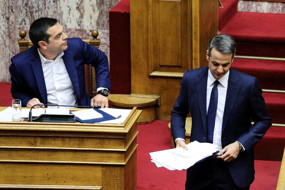 Αντιπολιτευτικά πυρά κατά ΣΥΡΙΖΑ και ΝΔ - «Οχι» σε ψήφο
