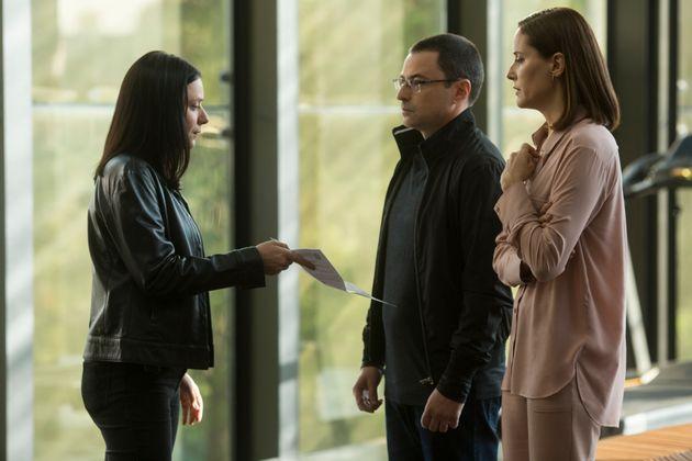 A delegada Verena em mais uma tentativa de prender o empreiteiro Ricardo