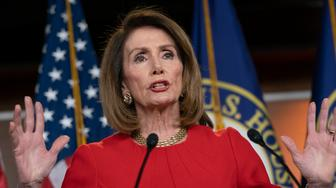 Speaker of the House Nancy Pelosi, D-Calif., insists that Attorney General William Barr send to Congress the full report by special counsel Robert Mueller on the Russia probe with all its underlying evidence, during a news conference on Capitol Hill in Washington, Thursday, April 4, 2019.  (Photo: J. Scott Applewhite/AP)