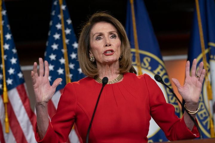 Speaker of the House Nancy Pelosi (D-Calif.) insists that Attorney General William Barr send Congress the full Mueller report