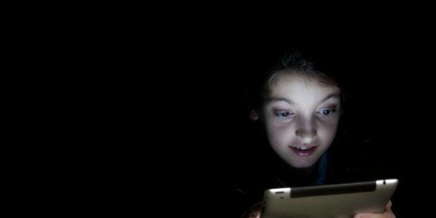 Girl reading a