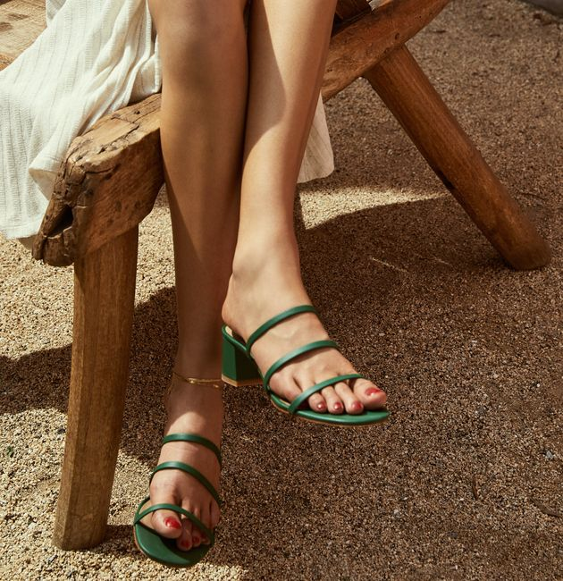 Reformation's New Sustainable Shoe Collection Is A Foot Above The